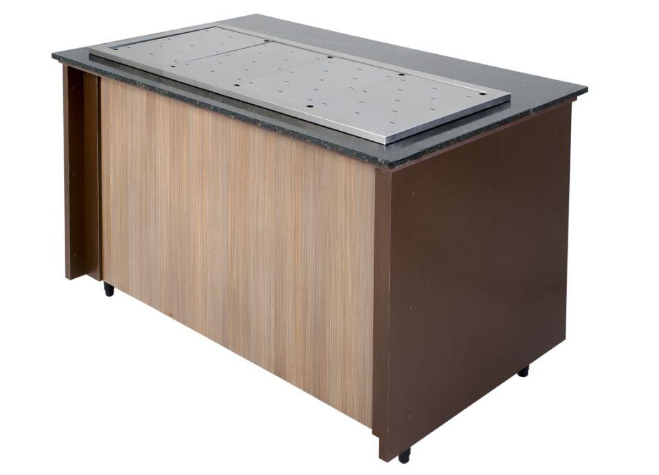 Módulo aquecido para panelas - Linha Wengue/Tavona